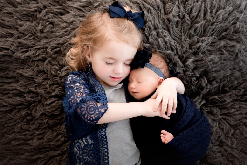 Newborn and Sibling Pictures