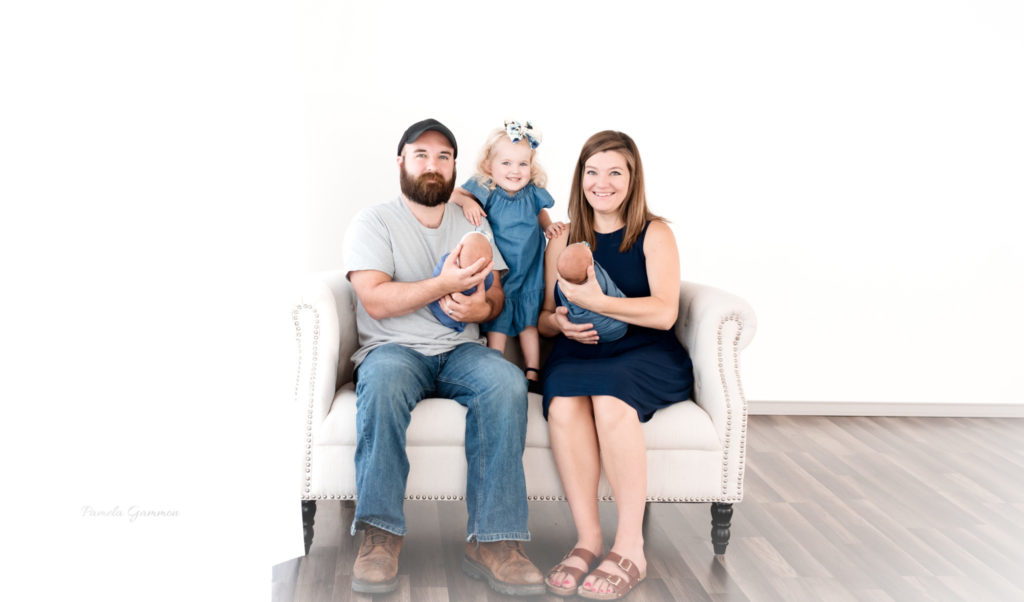 Southern Ohio Family and Twin Photos
