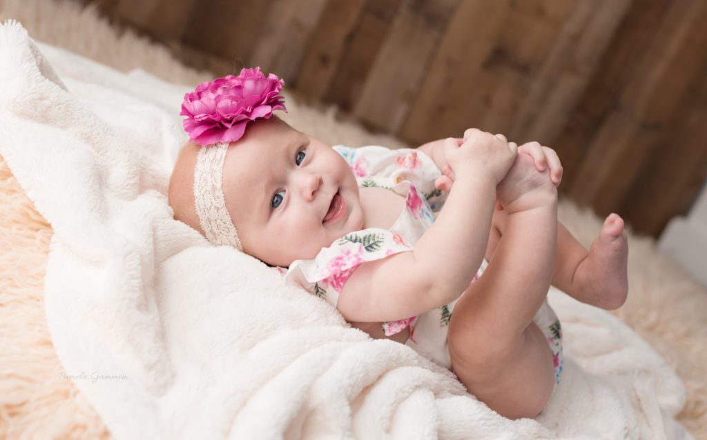 Portsmouth 6 month baby girl photos