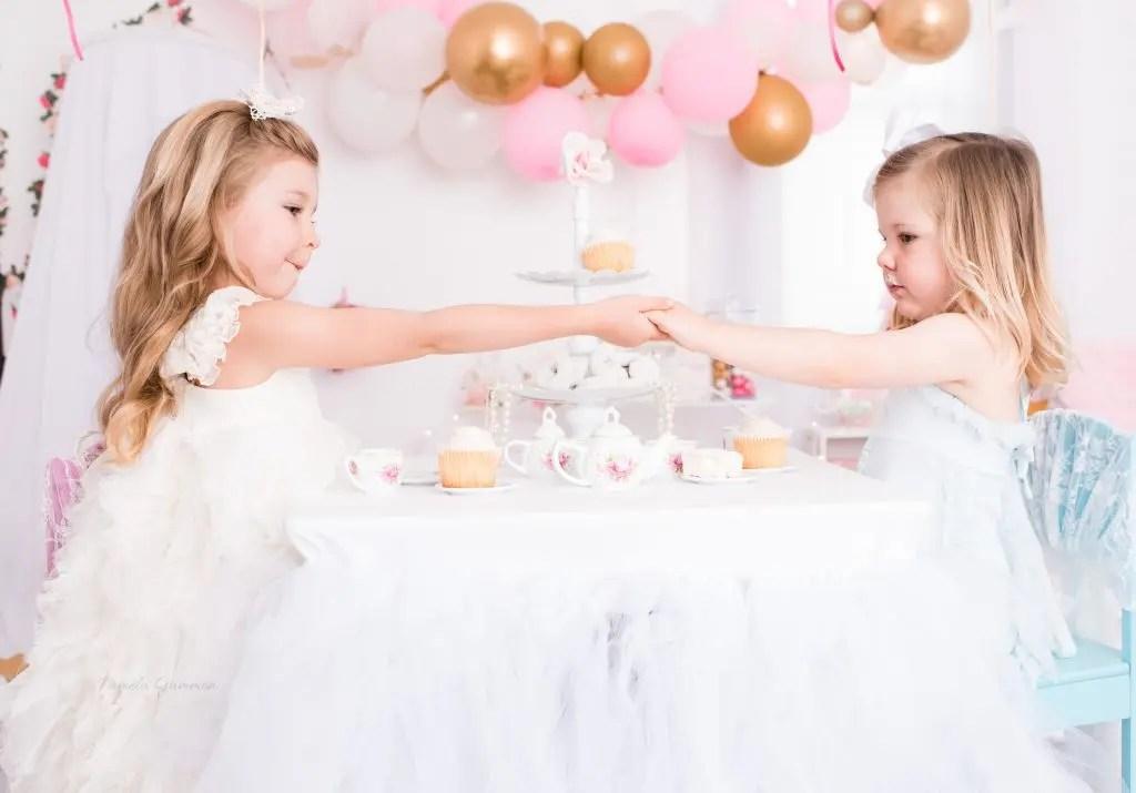 Girl Tea Party Photos