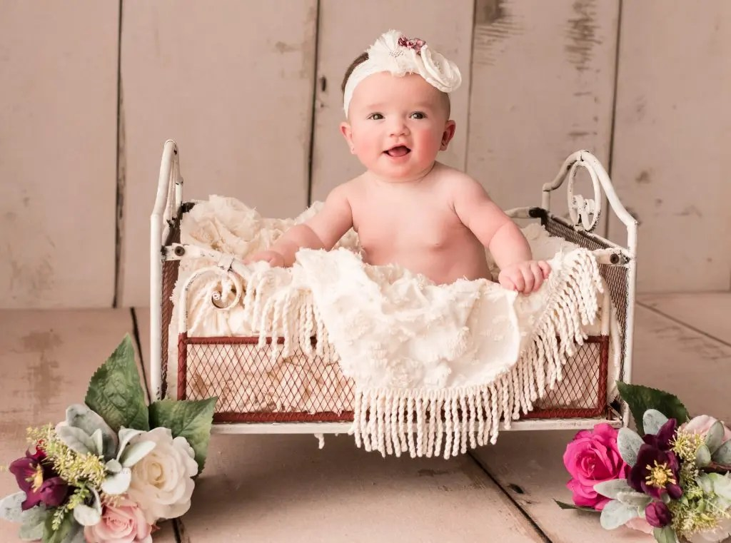 6 month old infant photos