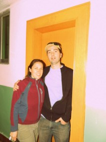 The door to Manu's old dorm room
