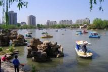 Boats at Purple Bamboo during the May holiday