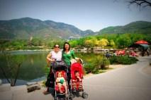 After a picnic lunch w/ Benjamin & Betty at Beijing Botanic Garden