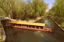 Canal boat to the Summer Palace