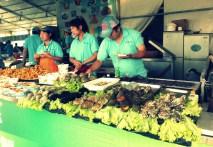 Yummy seaside food