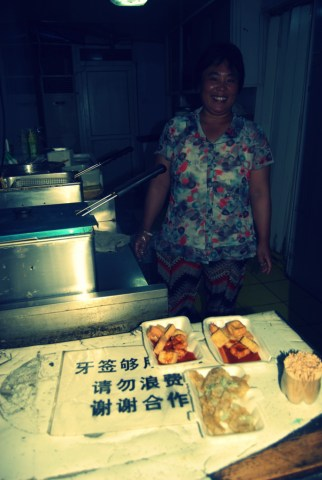 The stinky tofu master