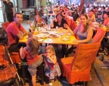 Street side dining