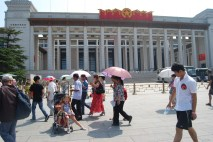 Only a small portion of the National Museum of China