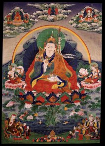Padmasambhava (photo from bhutanjournals.com)