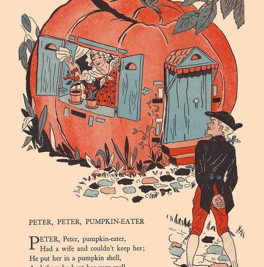 Peter Pumpkin Drawing