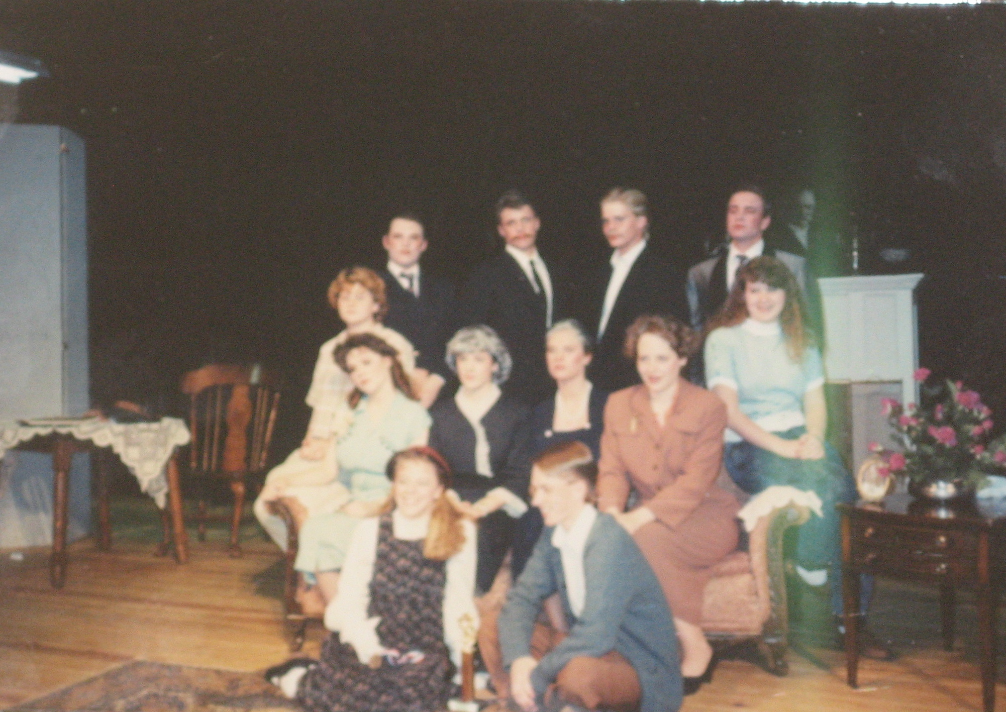 Senior year one-act play... guess which one is me.