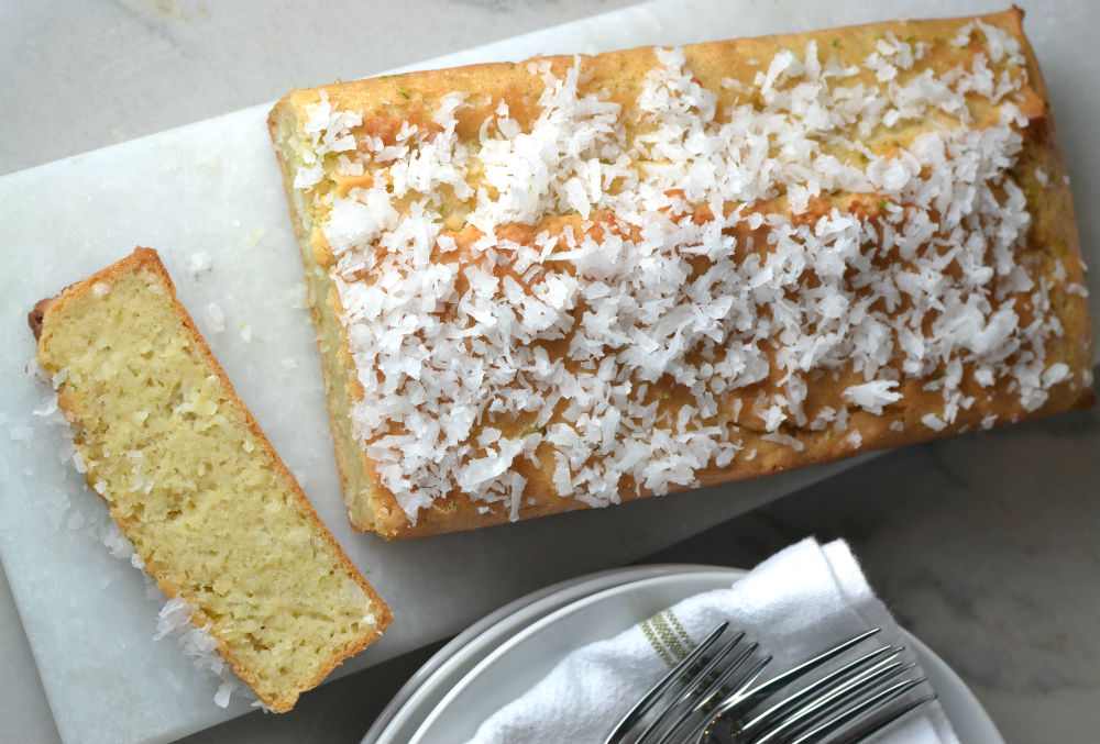 Coconut Lime Loaf