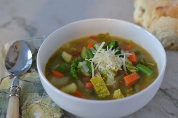 Winter Minestrone Soup – Gluten Free