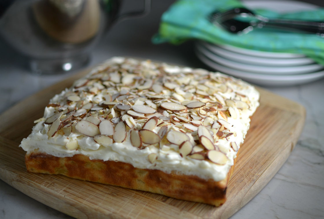 Pineapple Toasted Almond Cake