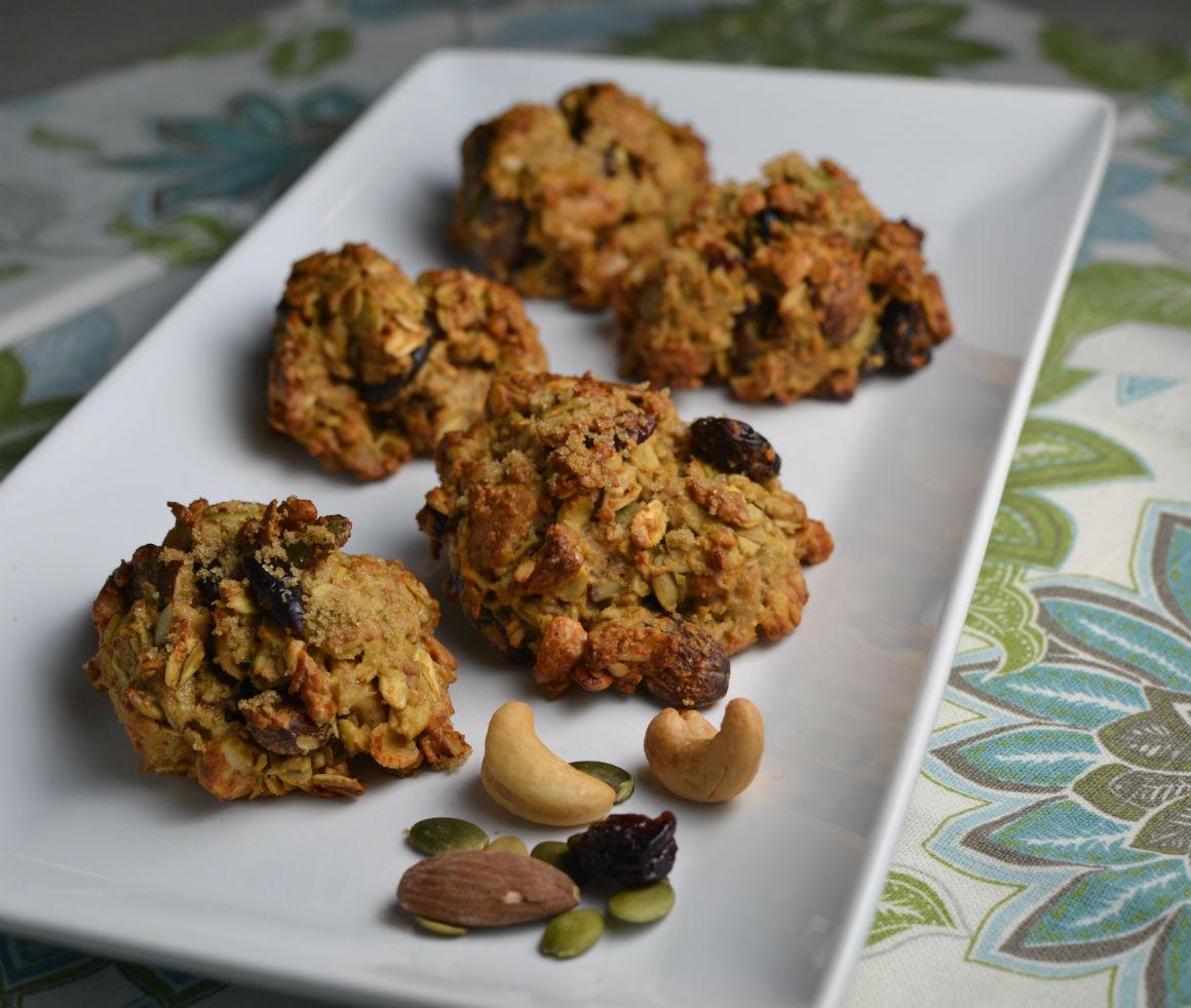 Nut and Seed Breakfast Cookies