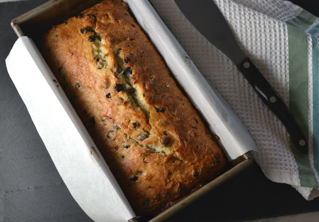 Blueberry Quick Bread Loaf
