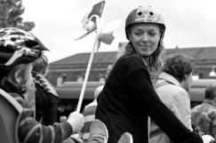 Vi cyklade för barnens framtid