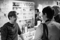 Mattias Kristiansson, chefredaktör på magasinet Vego.