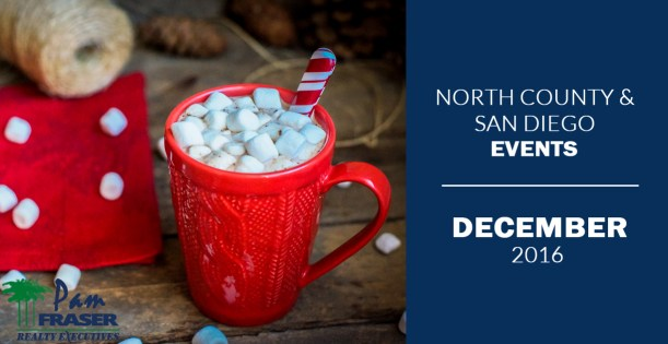 North County and San Diego County Events - December 2016
