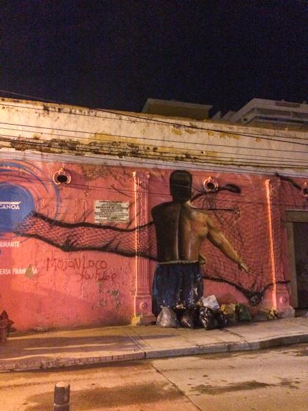 Santa Marta mural