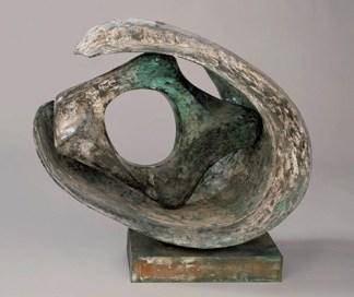 Ceramic sculpture grey