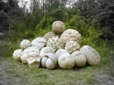 Assorted Pollen Handbuilt Limestone Compound