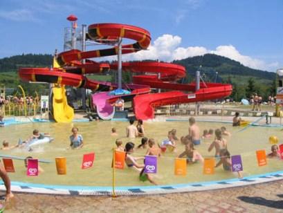 detský vonkajší bazén Kúpaliska Bešeňová