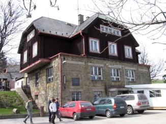 Holubyho chata - Veľká Javorina