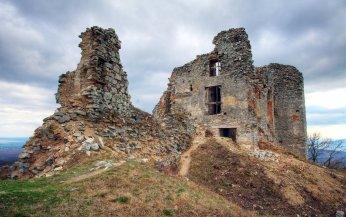 pozostatky z hradu Gýmeš