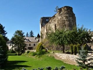 hrad Liptovský Hrádok