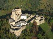 letecký náhľad - Ľubovniansky hrad