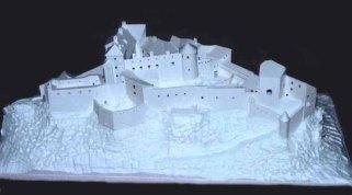 maketa hradu Gýmeš