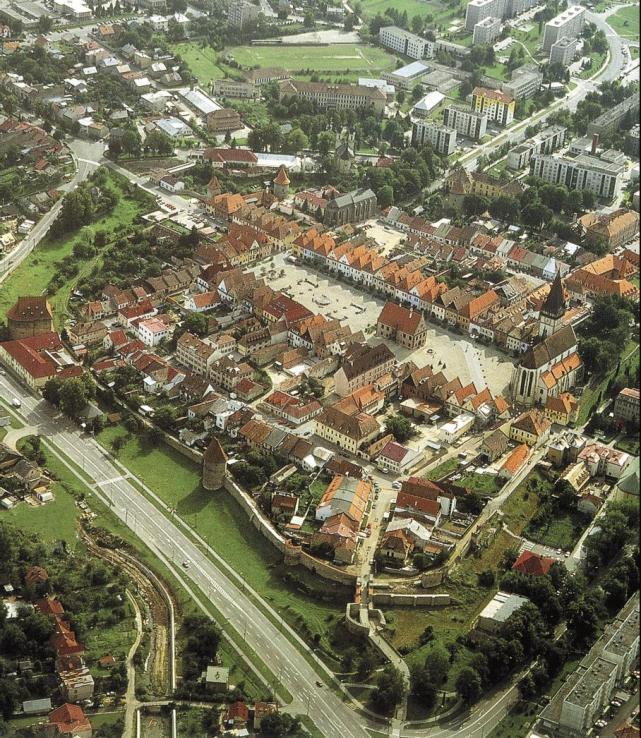 Mesto Bardejov - panoráma