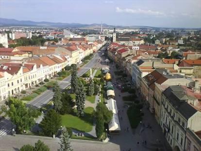 mesto Prešov - Hlavná ulica
