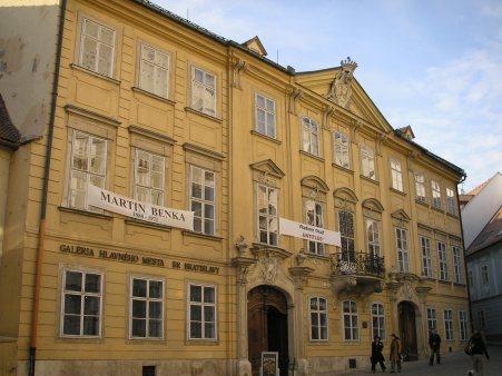 Galérie Bratislava - Mirbachov palác