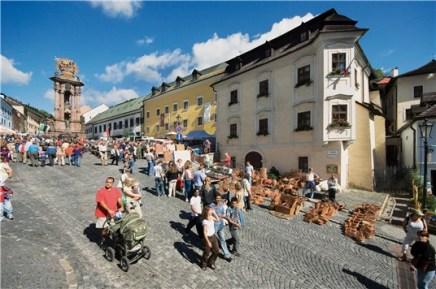 Námestie Banská Štiavnica