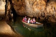 Plavba v jaskyni Domica