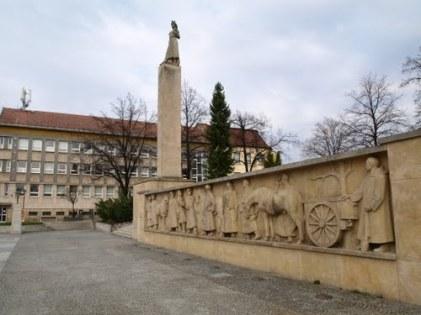 Pomník padlým v SNP - Prievidza