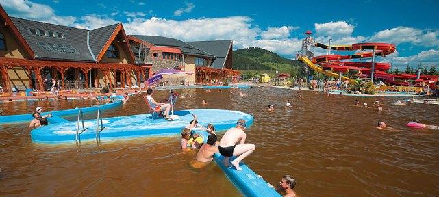 relaxačné bazény Bešeňová