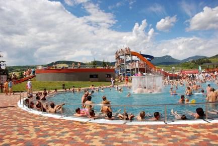 vonkajší relaxačný bazén Bešeňová