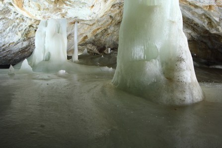 Dobšinská ľadová jaskyňa - Veľká sieň
