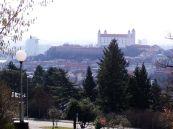 výhľad zo Slavína