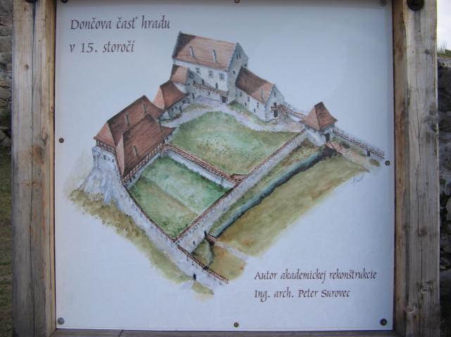 Dončov hrad - Pustý hrad