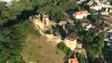 letecký náhľad Fiľakovský hrad