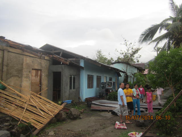 Ptr Raf's house abutted to Compassion kids building