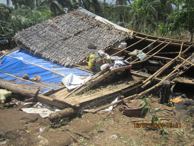 Sis. Nova's house collapsed