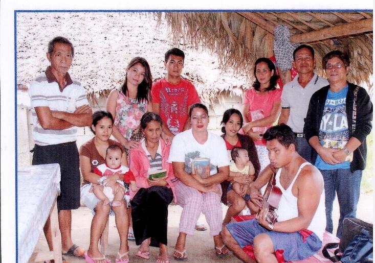 Bible Study in Tanga with Bro. Manding family and neighbors and Sis Irene, Sis Gloria's sister (Ptr Virgilio Fulo, Ptr Pio Guray, and Ptr Joel handle it)