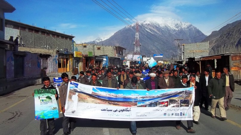 Significance of High Altitude Wetlands highlighted in a day long event held at Gahkuch