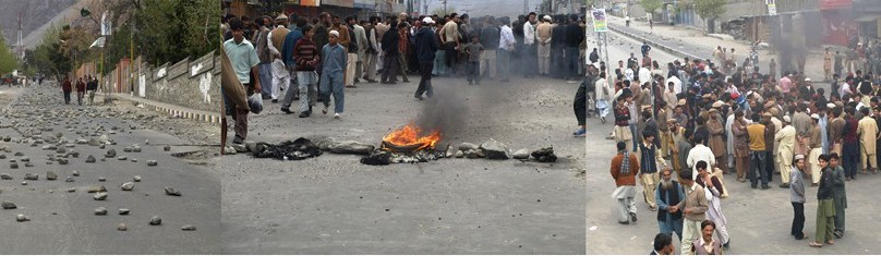 Army takes control of Gilgit city, hundreds stranded due to curfew
